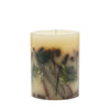 "Rosy Rings - Medium (6.5"" HX5""D) Botanical Candle Forest"