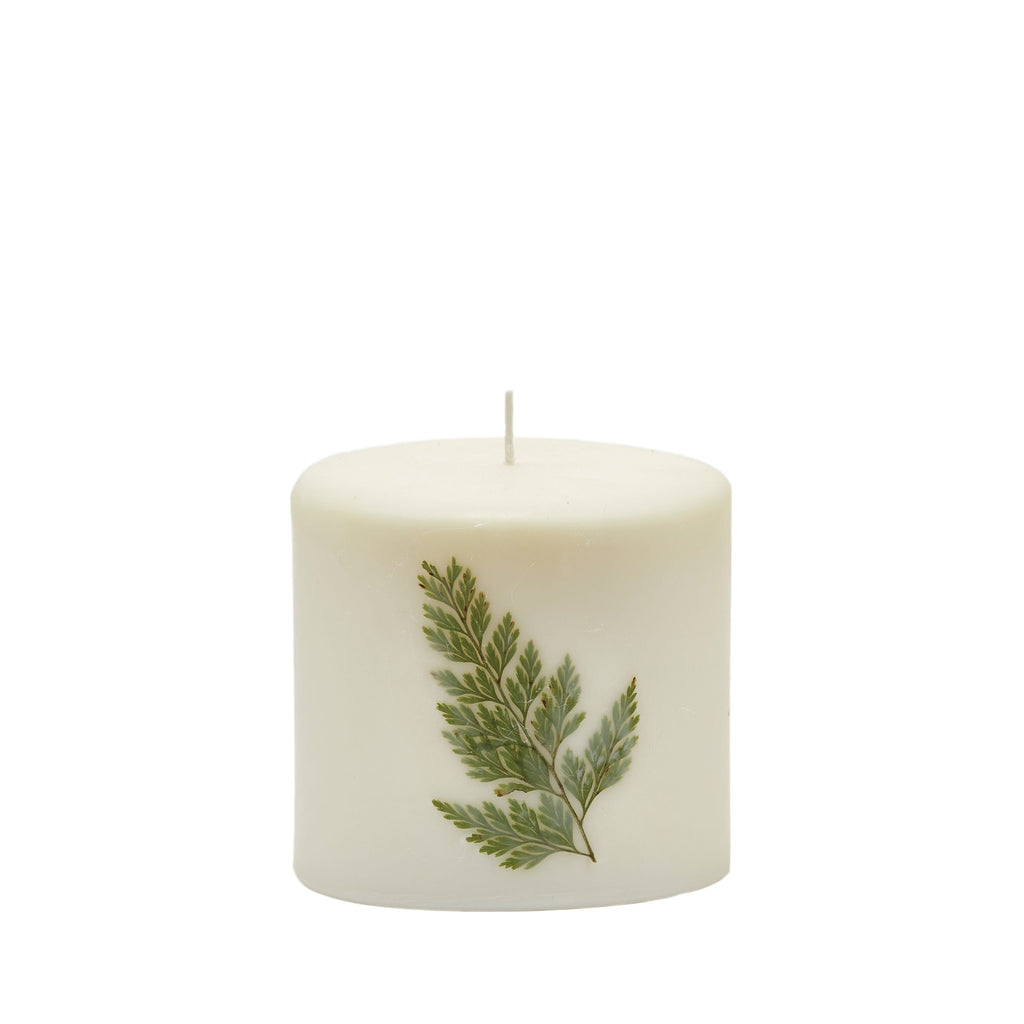 Rosy Rings - Forest Pillar Botanical Candle