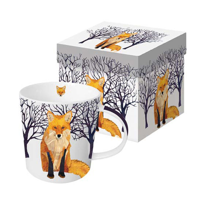 Winter Fox - Mug In Gift Box
