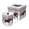 Winter Moose - Mug In Gift Box