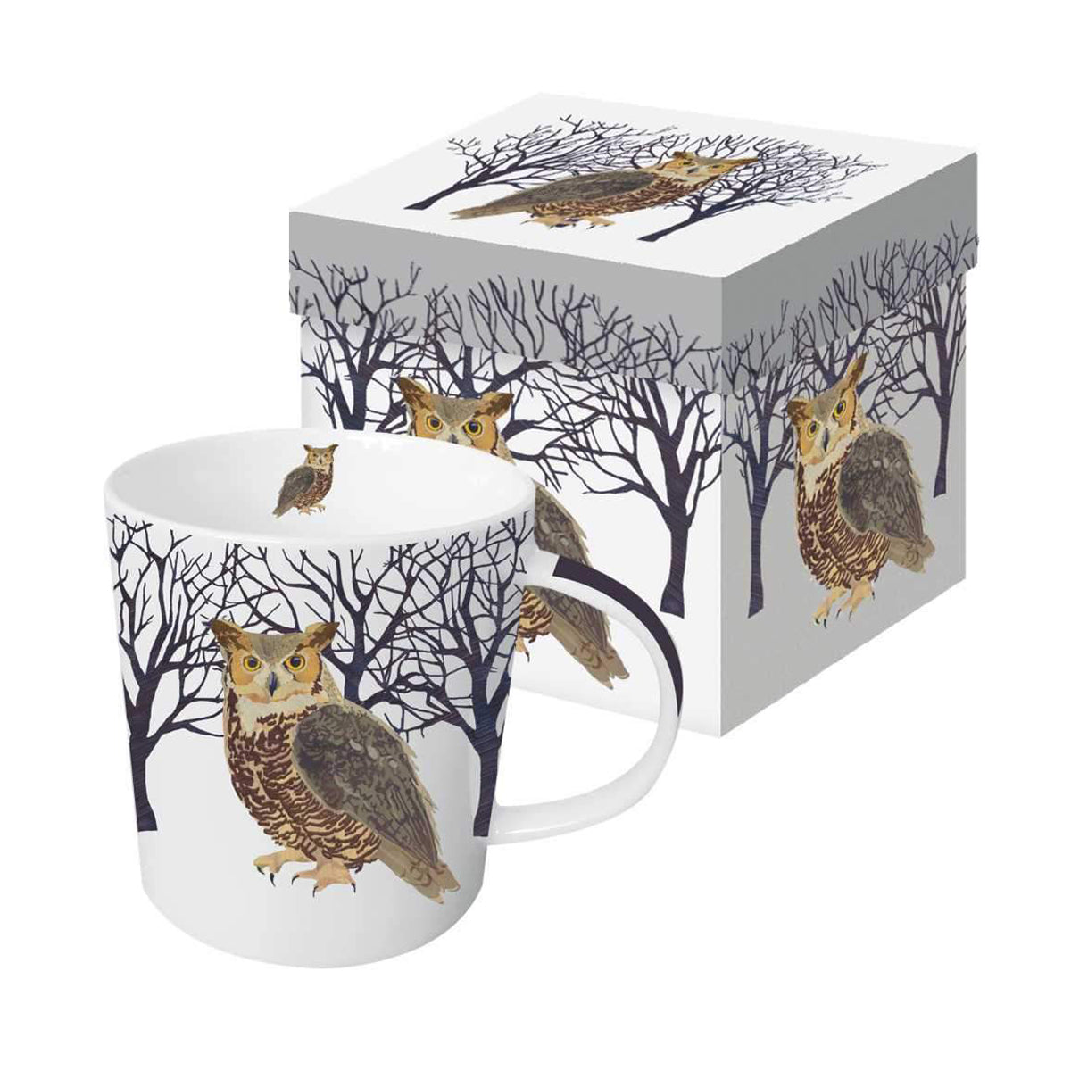 Winter Owl - Mug In Gift Box