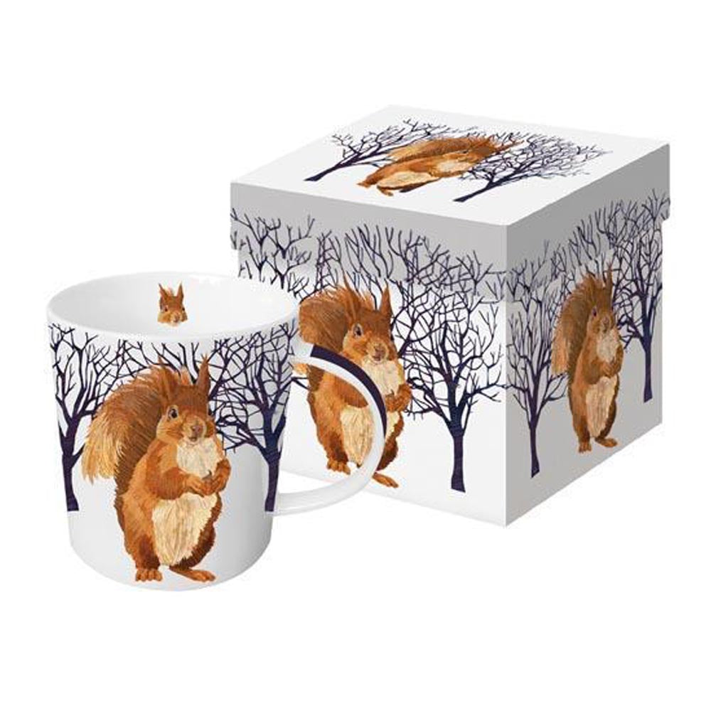 Winter Squirrel - Mug In Gift Box