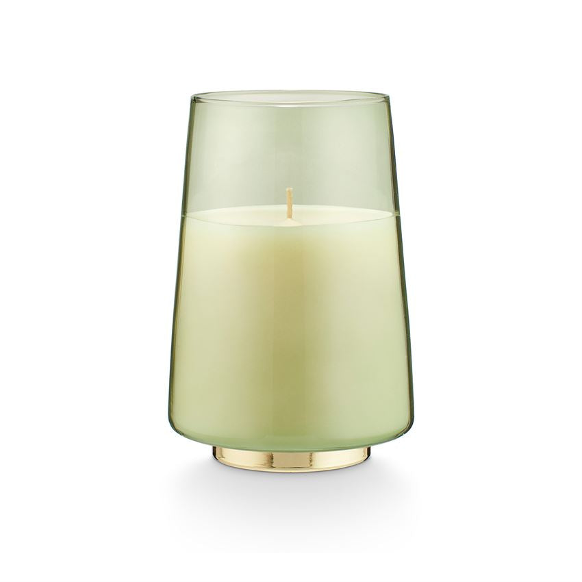Evergreen Winsome Glass Candle