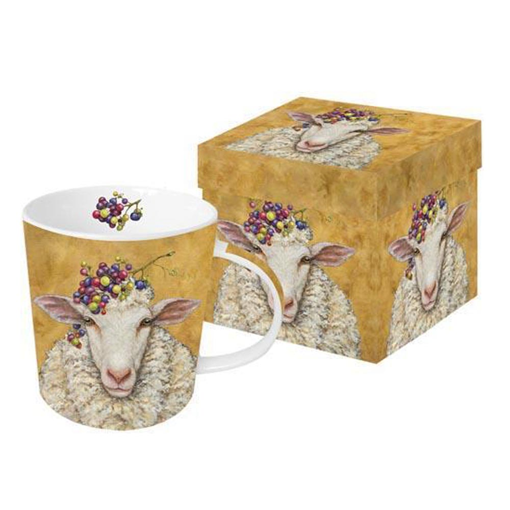 Vineyard Sheep - Mug In Gift Box