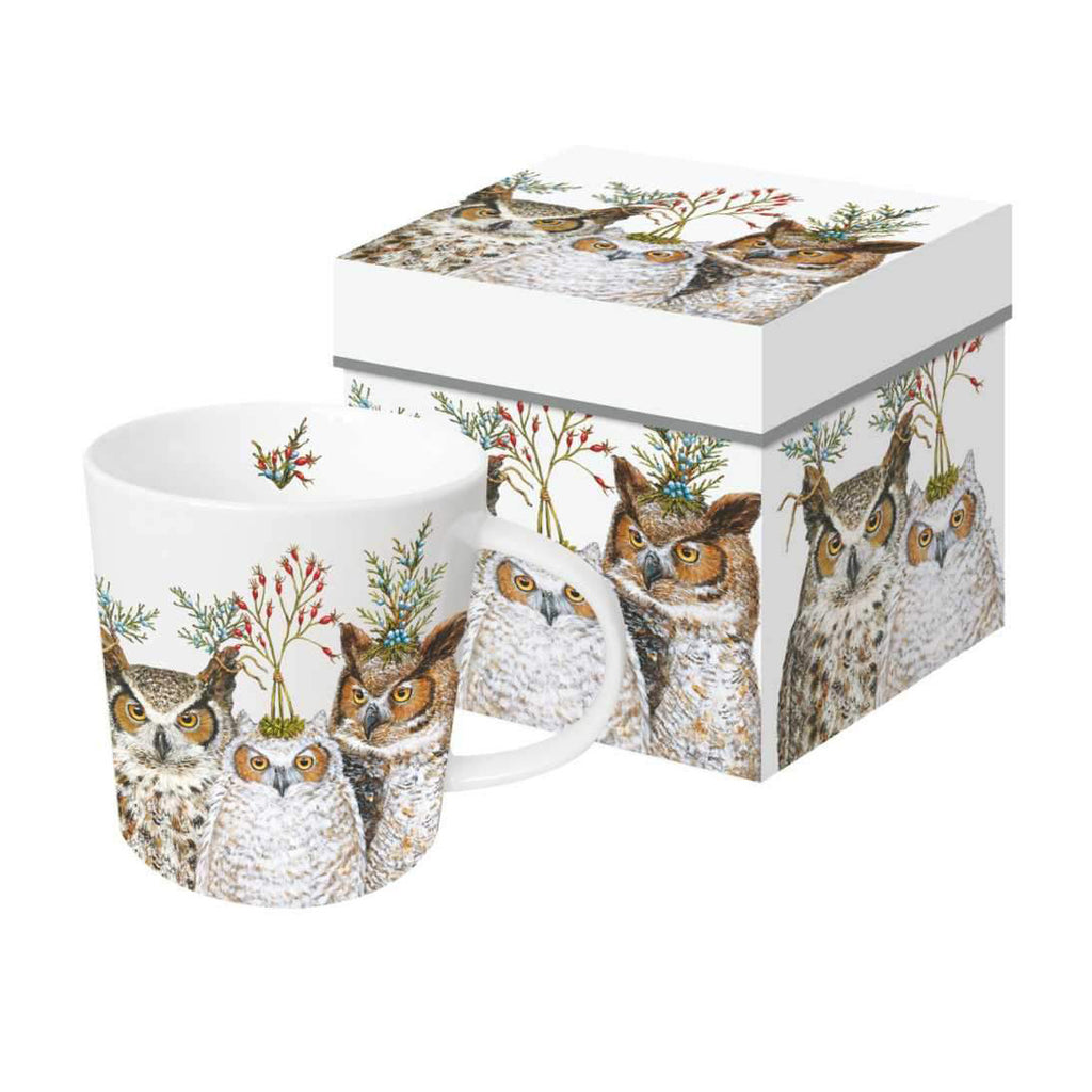 Holiday Hoot - Mug In Gift Box