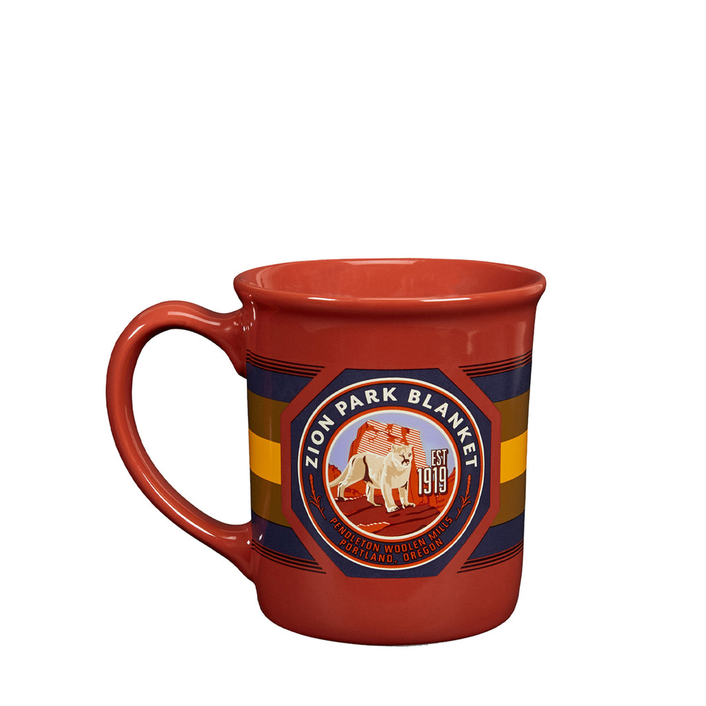 National Park Ceramic Mug in Zion