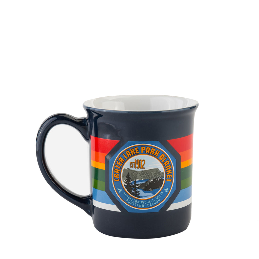 National Park Ceramic Mug in Crater Lake Navy