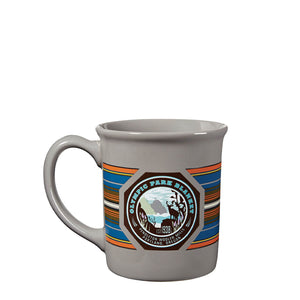 National Park Ceramic Mug in Olympic Grey