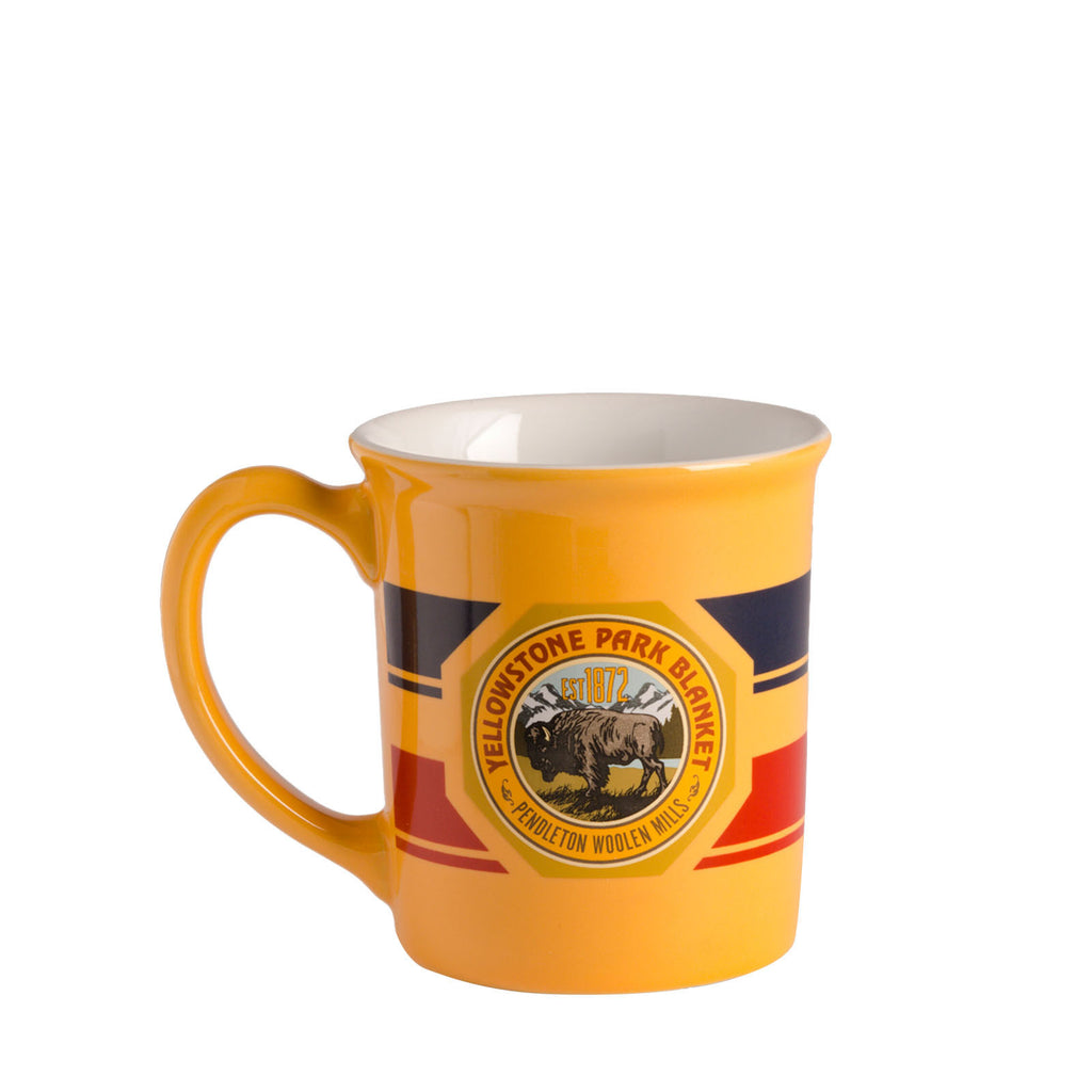 National Park Ceramic Mug in Yellowstone Marigold