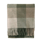 Eco-Wise Easy Care Throw Fringe in Juniper/Fawn