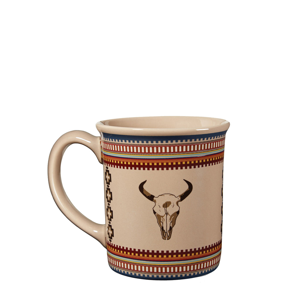 18 oz Ceramic Mug in American West