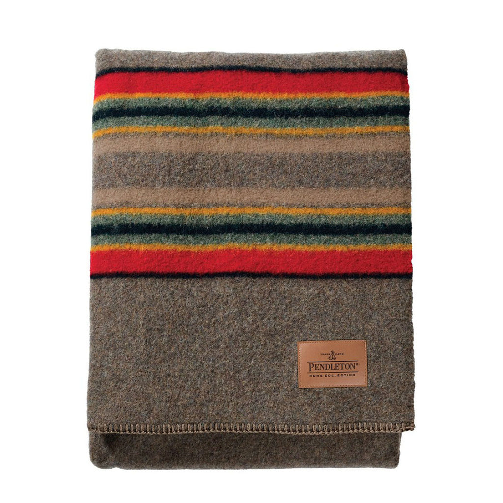 Yakima Camp Twin Blanket in Mineral Umber