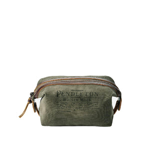 Canvas Essentials Pouch in Pine