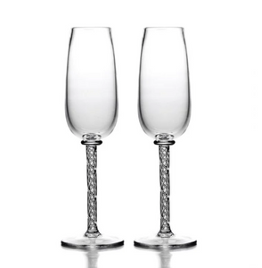 Simon Pearce - Stratton Champagne Flute Set