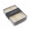 Simon Pearce - Menorah Candle Set Ivory