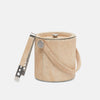 BROWMLEY Beige Ice Bucket With Tongs