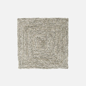 ZOEY Mixed Gray Square Placemat