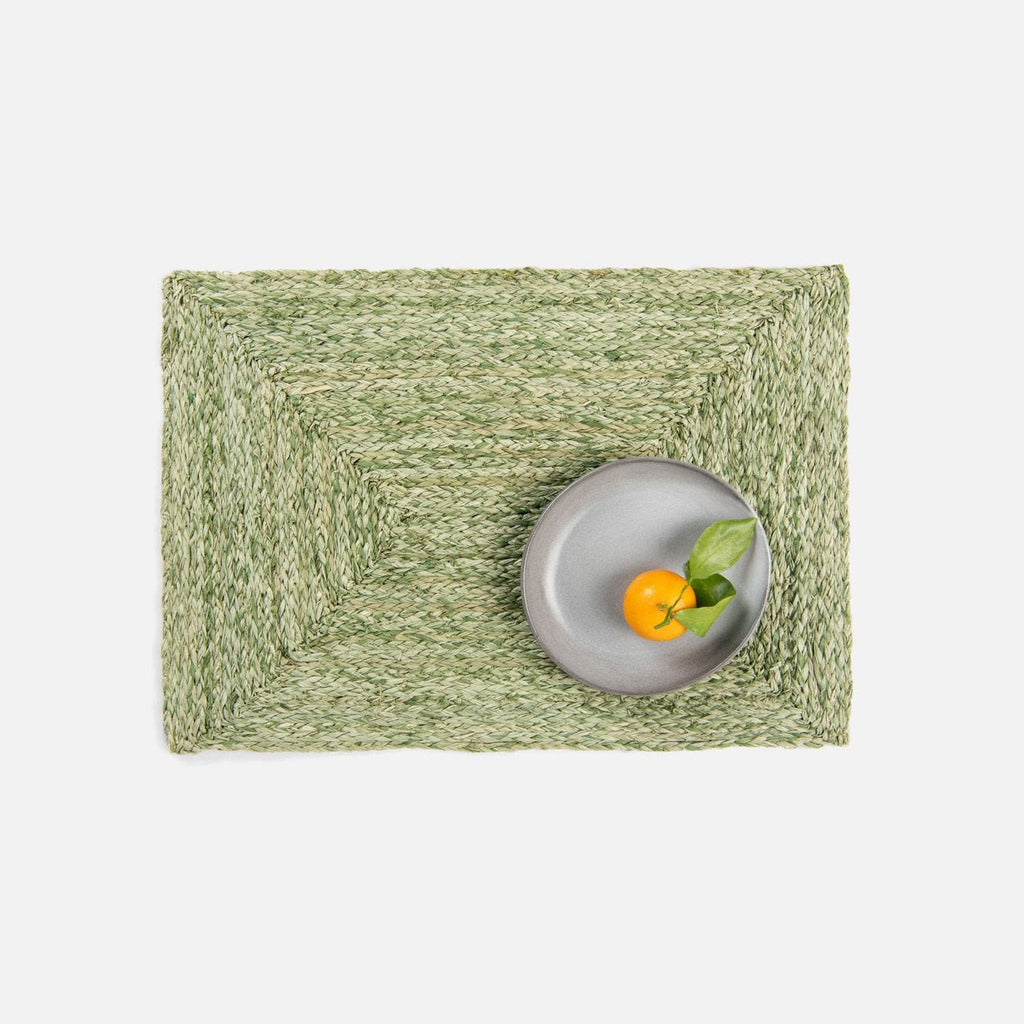 ZOEY Pale Green Rectangular Placemat