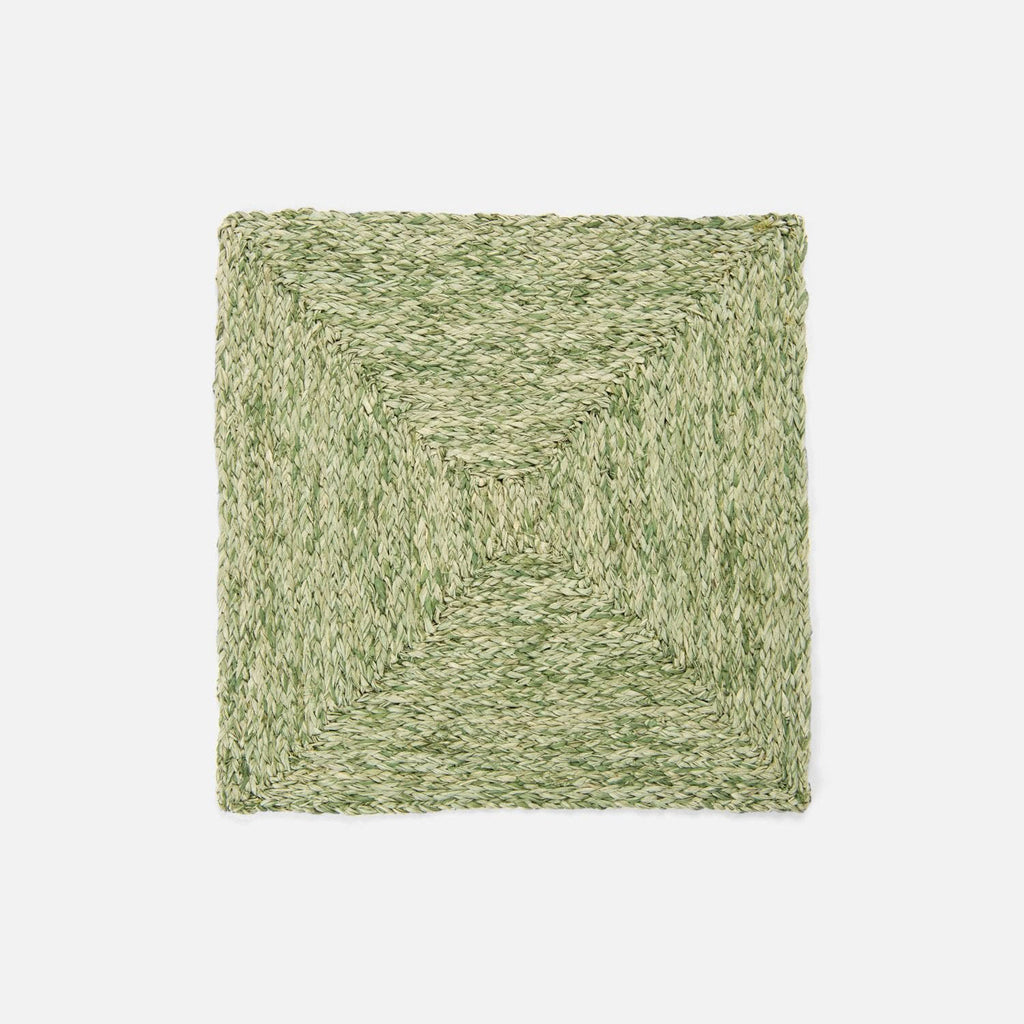 ZOEY Pale Green Square Placemat
