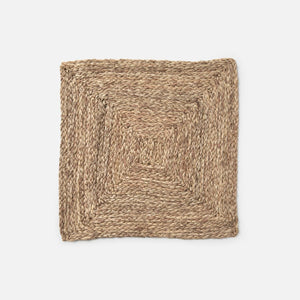 ZOEY Mixed Taupe Square Placemat