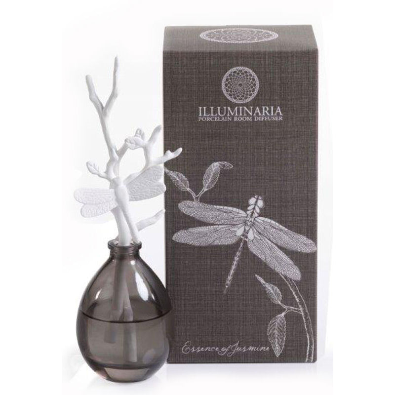 Illuminaria Porcelain Diffuser/Essence of Jasmine