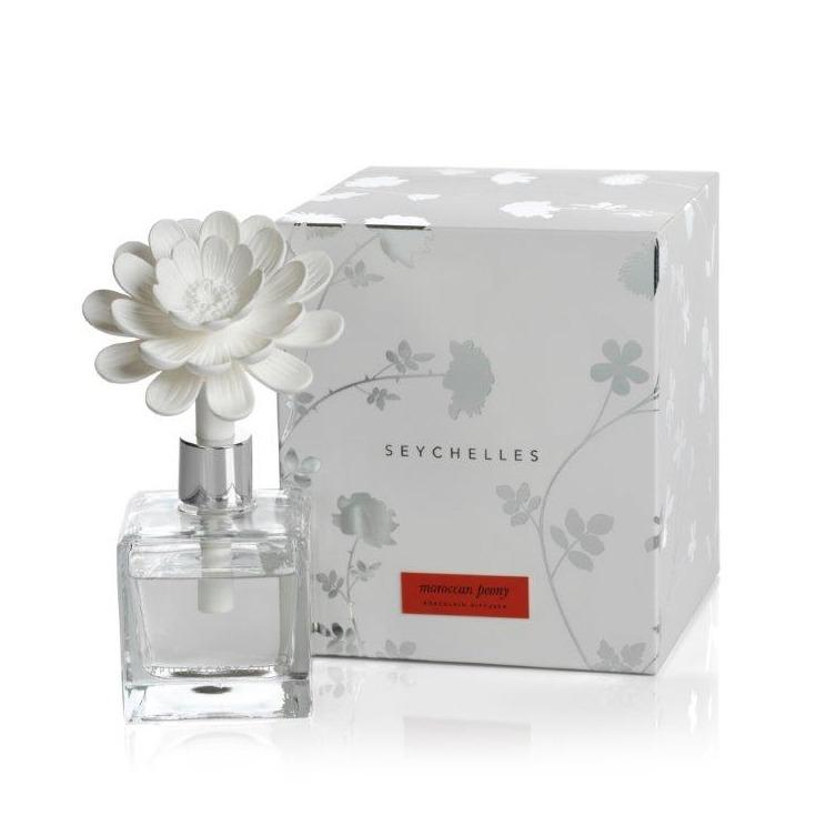 Seychelles Porcelain Diffuser - Moroccan Peony