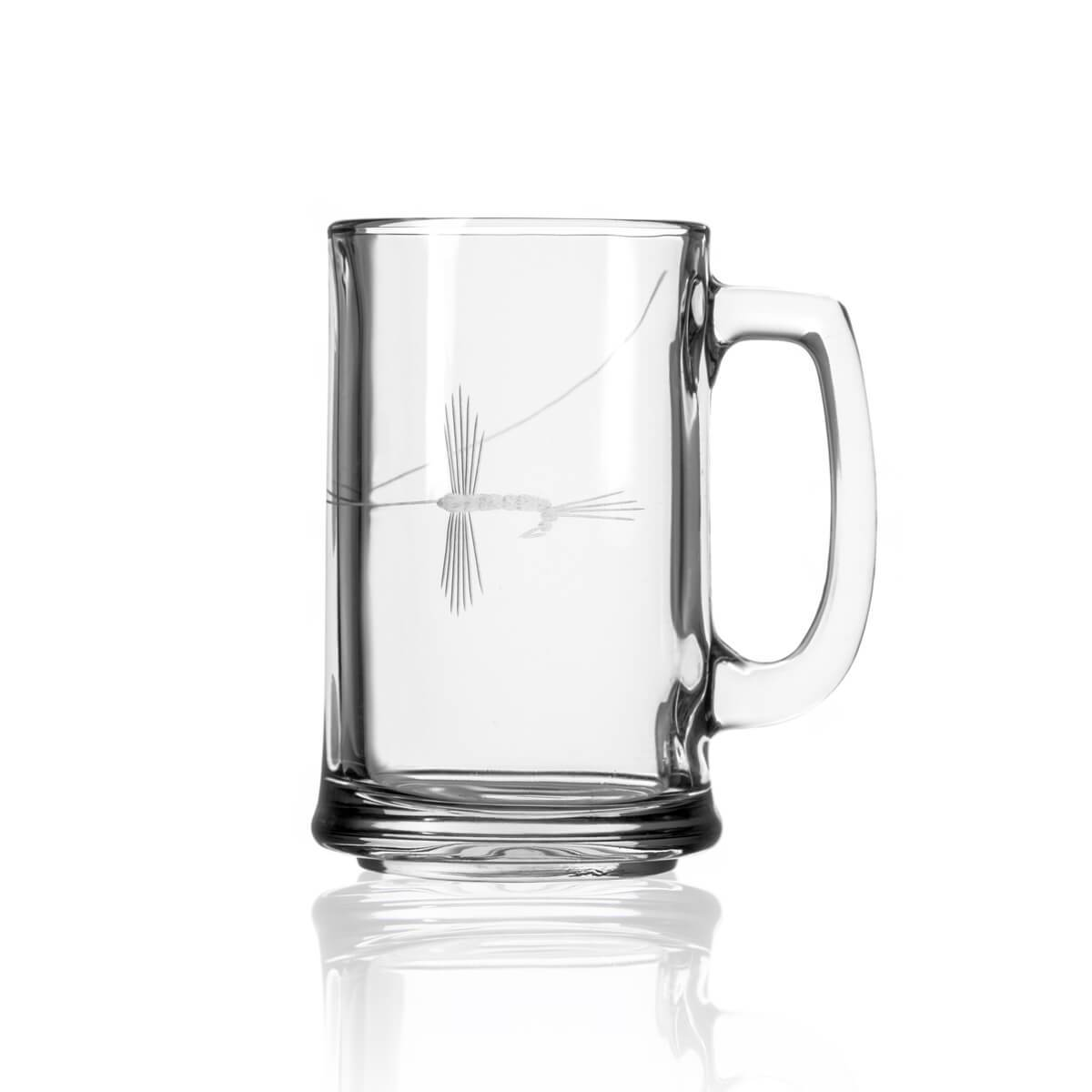 Rolf Glass - Fly Fishing 15oz Beer Mug