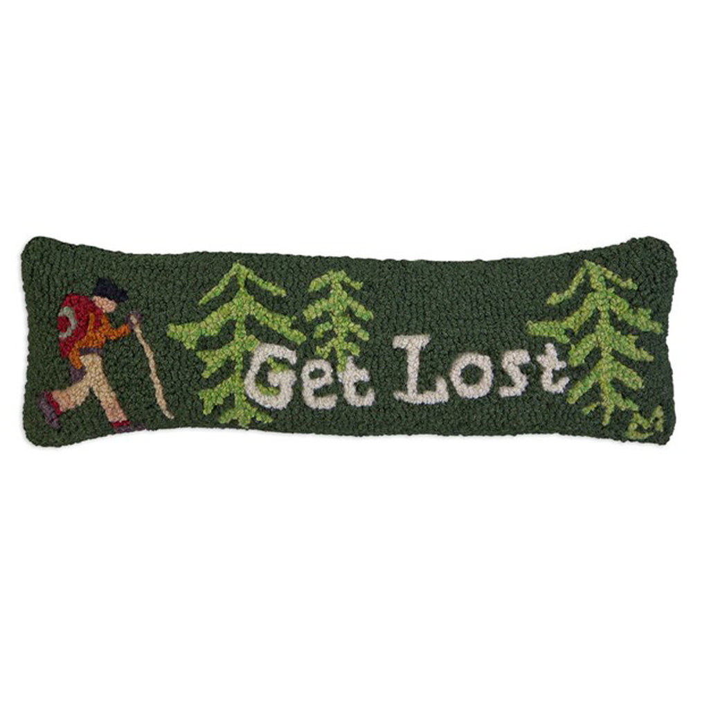Get Lost Pillow 8x24