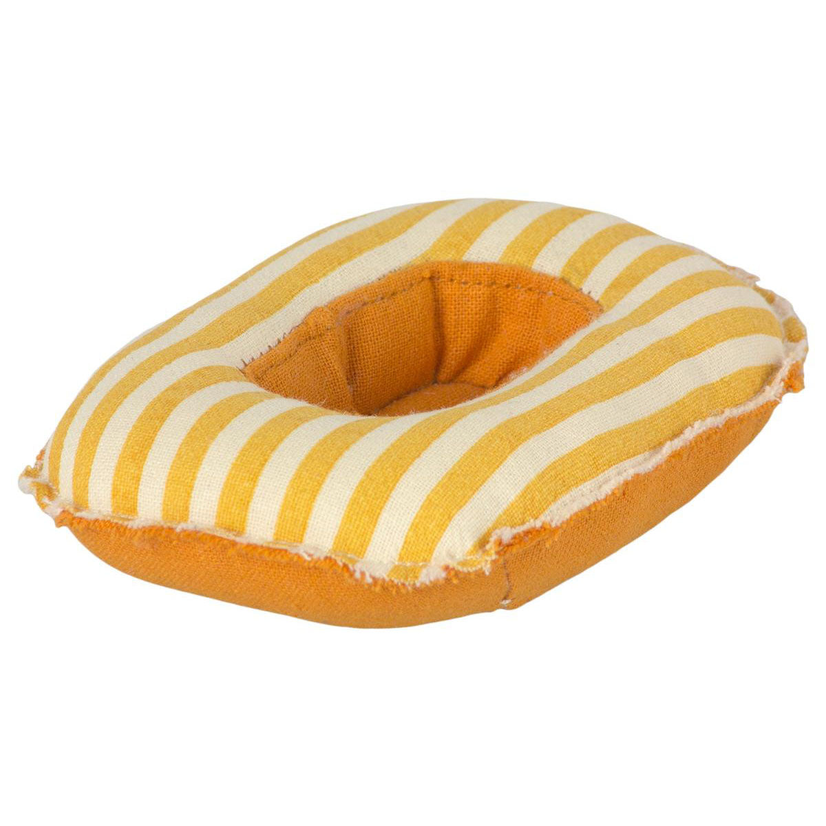 Maileg - Rubber Boat, Mouse - Yellow Stripe