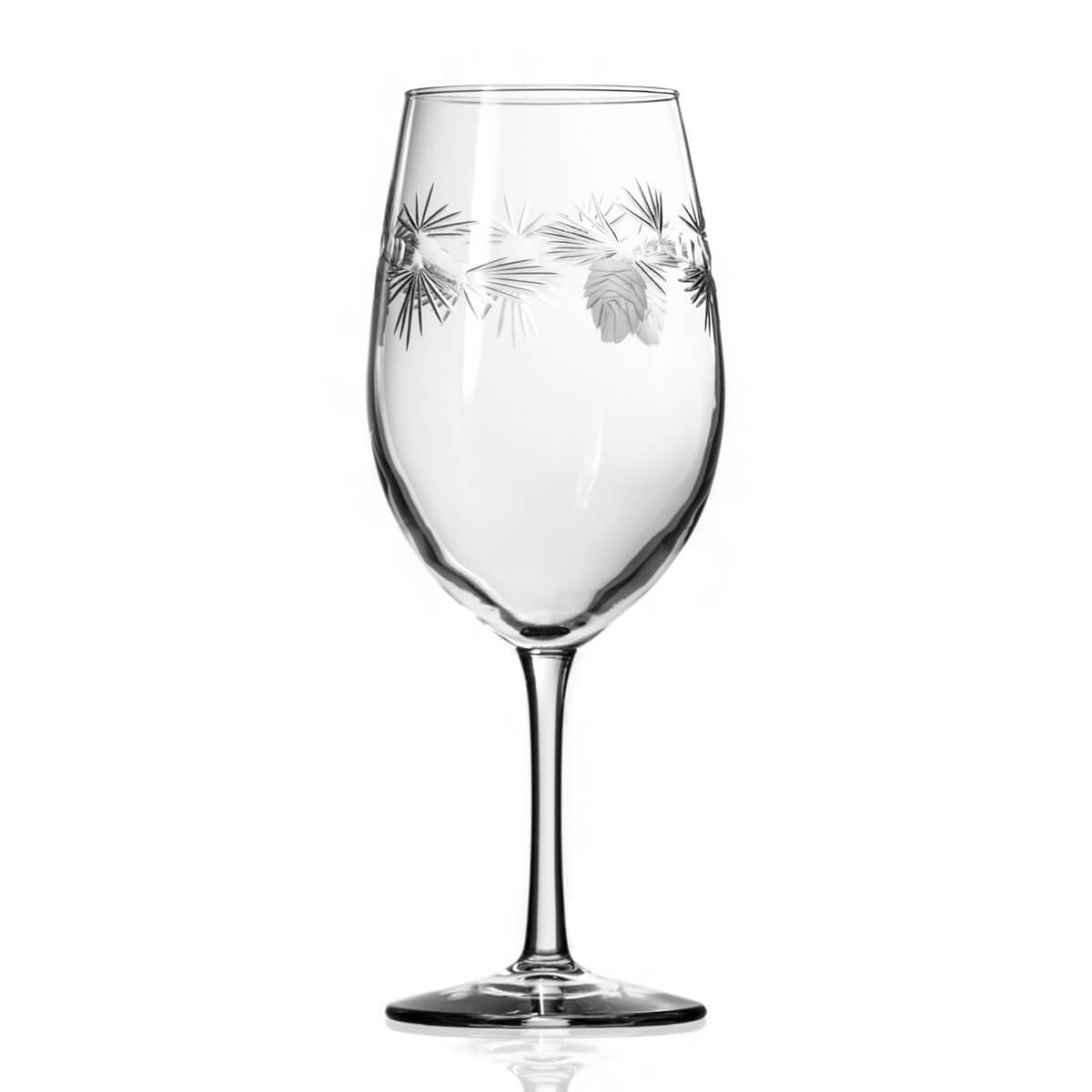 Rolf Glass - Icy Pine 18oz Large All Purpose Wine Glass