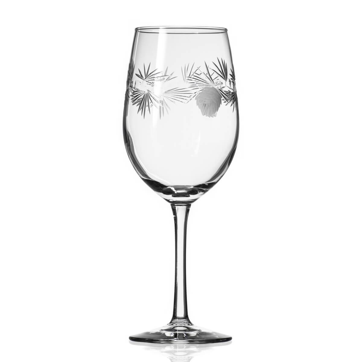 Rolf Glass - Icy Pine 12oz White Wine Glass