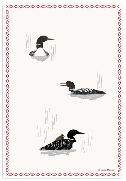 Loon Hand Towel