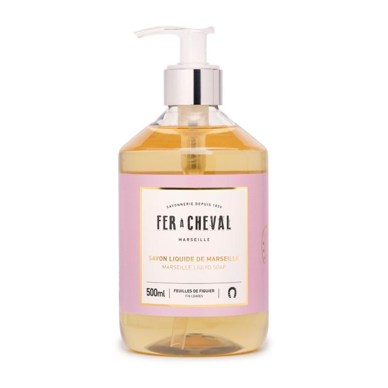 Marseille Liquid Soap - Fig Leaves 500ml