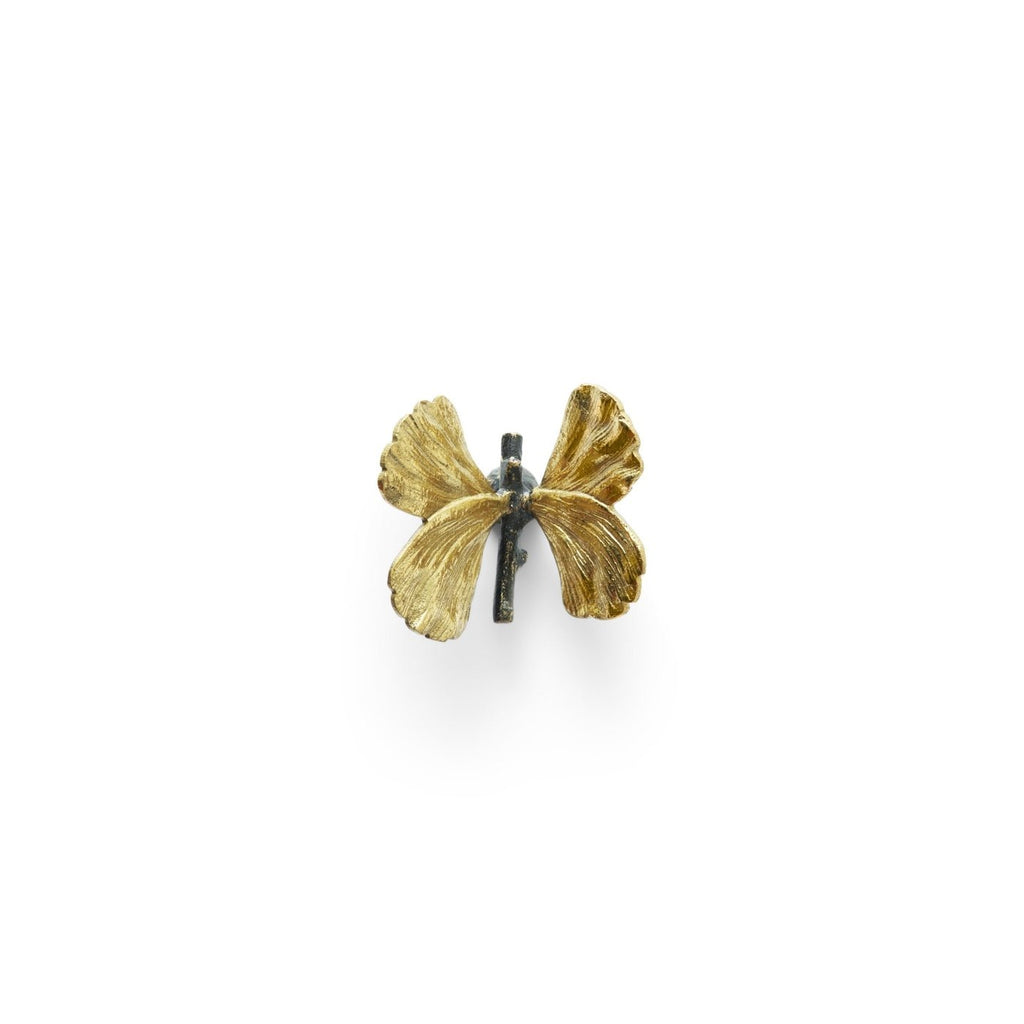 Butterfly Ginkgo Small Knob