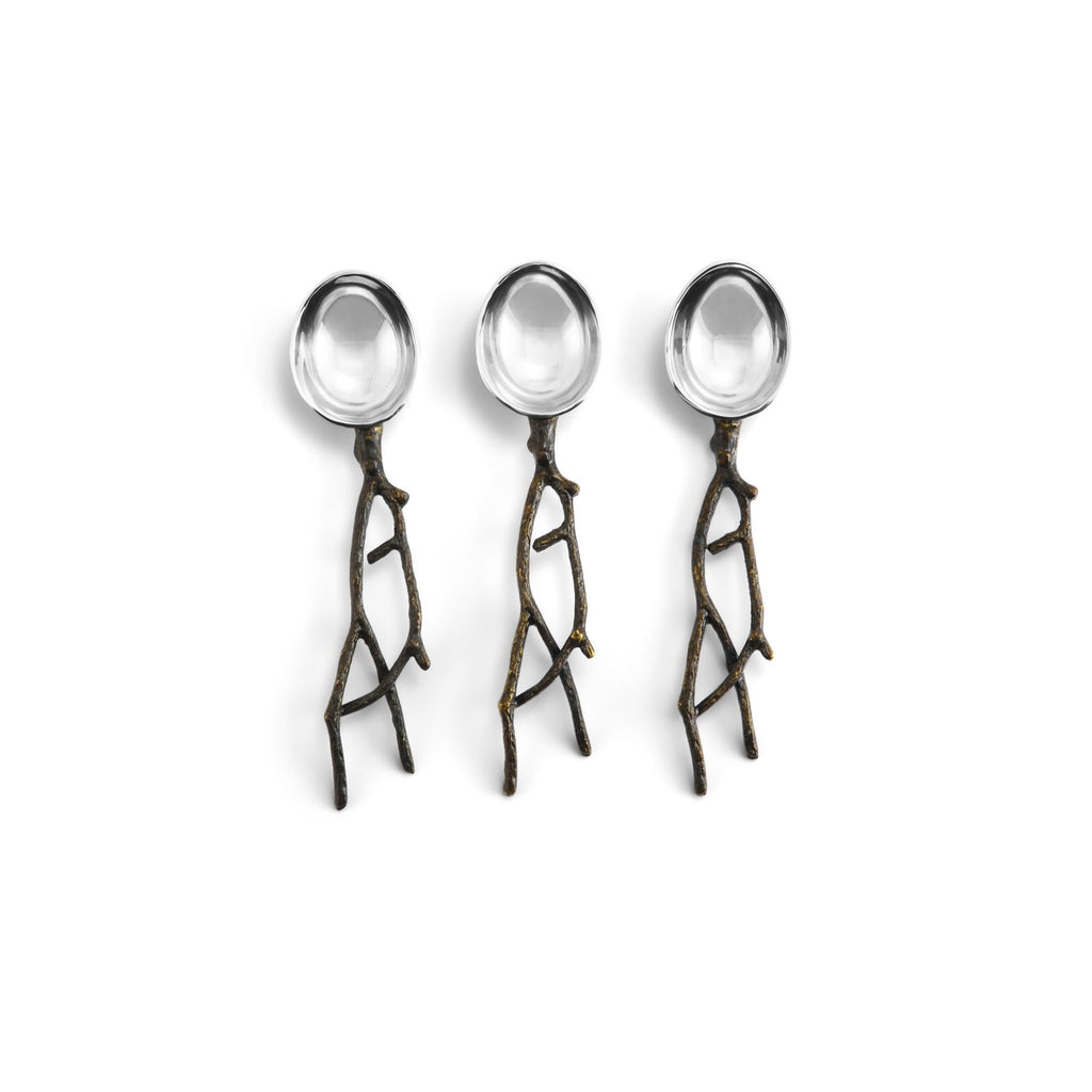 Twig Spoon Set
