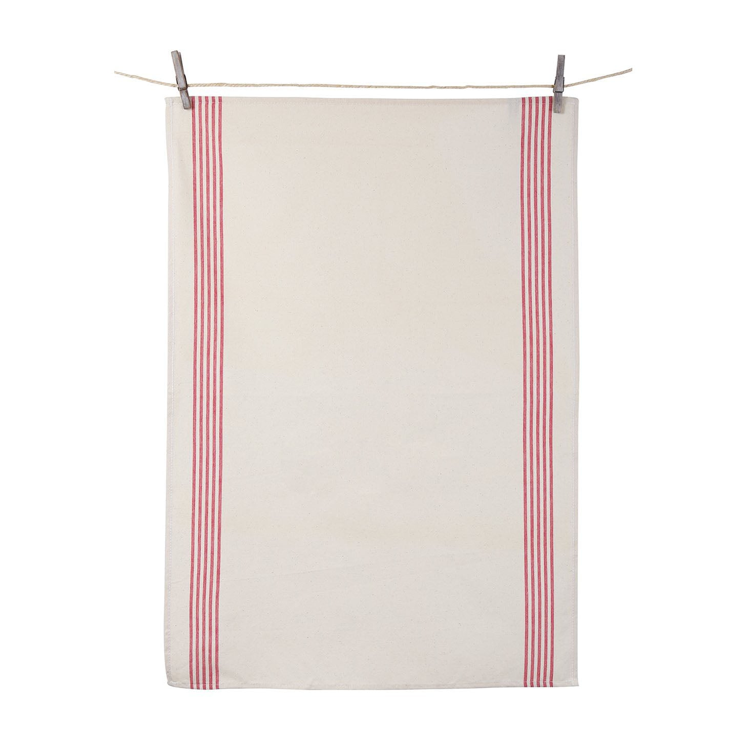 S/2 Renzo Dish Towels Red