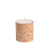 Birchwood Pillar Candle 3X3
