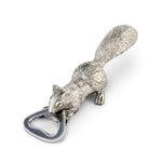 Squirrel Pewter Bottle Opener