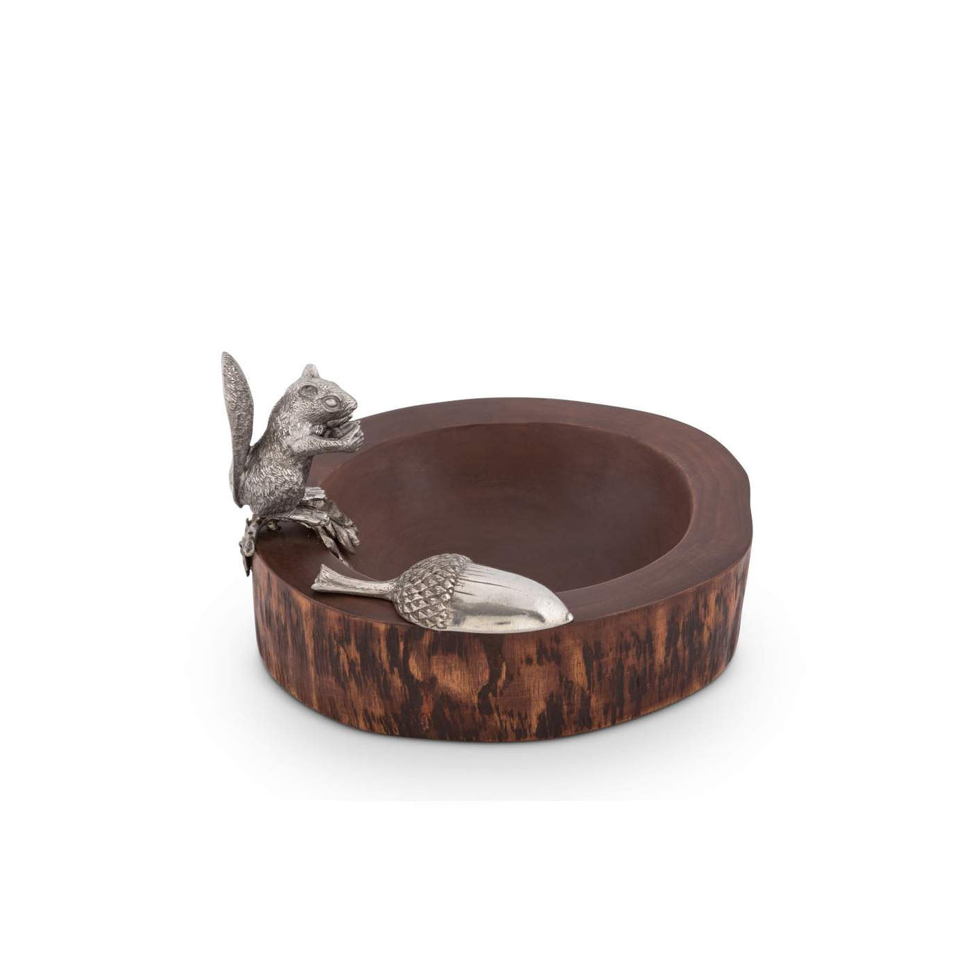 Standing Squirrel Nut Bowl & Scoop