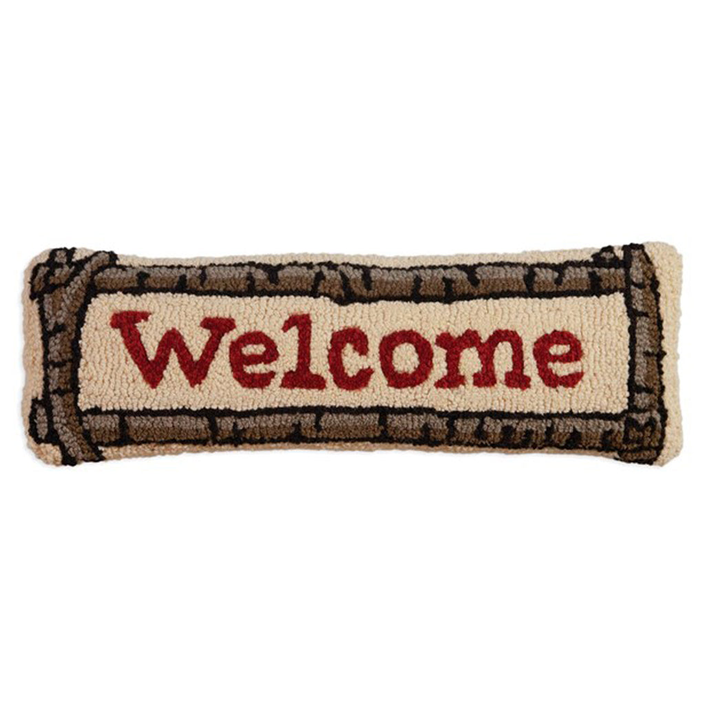 Welcome Pillow 8x24