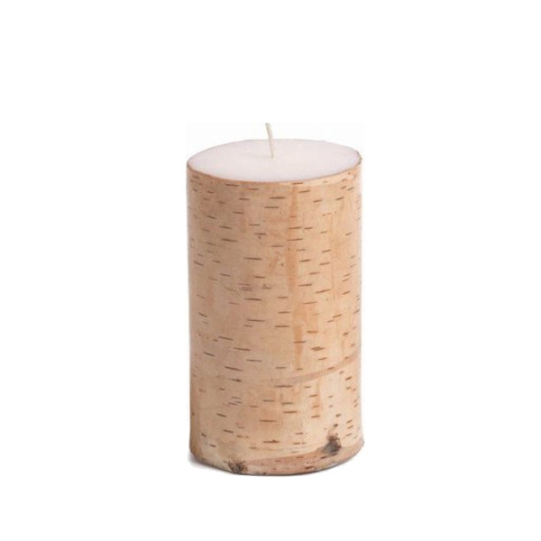 Birchwood Pillar Candle 3X5
