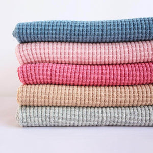 Organic plant dyed baby blankets. Luxury merino baby blanket made in the USA. Best baby shower gift. Sustainable, ethically made baby blanket.