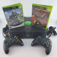 Original Xbox Console Bundle: Halo & Halo 2 | Retrolio Games