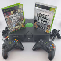 Original Xbox Console Grand Theft Auto Bundle | Retrolio Games
