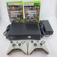 Xbox 360 Console Bundle: Grand Theft Auto IV & V | Retrolio Games