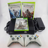 Xbox 360 Console Bundle: Assassin's Creed I, II & III | Retrolio Games