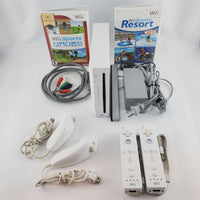 Nintendo Wii Console Bundle: Wii Sports & Wii Sports Resort | Retrolio Games