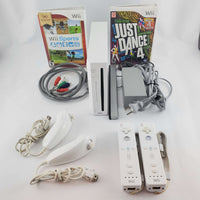 Nintendo Wii Console Bundle: Wii Sports & Just Dance 4 | Retrolio Games
