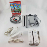 Nintendo Wii Console Bundle: New Super Mario Bros | Retrolio Games