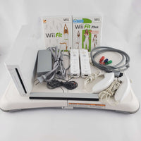 Nintendo Wii Console Bundle: Wii Fit, Fit Plus & Balance Board | Retrolio Games